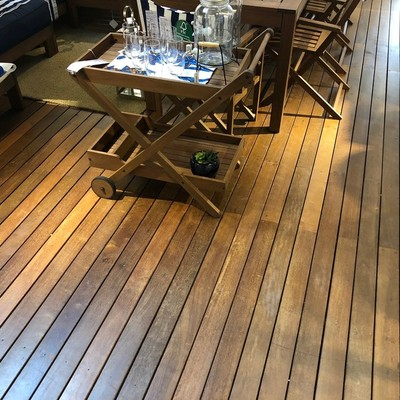 Ipe smalle decking boards hardwood