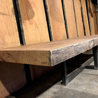 Tree trunk table extra thick